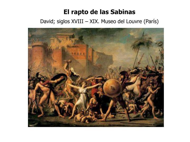 El rapto de las Sabinas