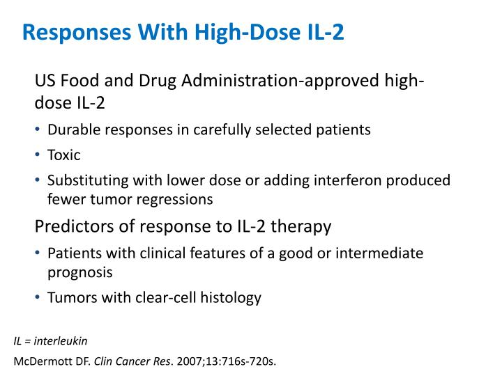 Responses With High-Dose IL-2