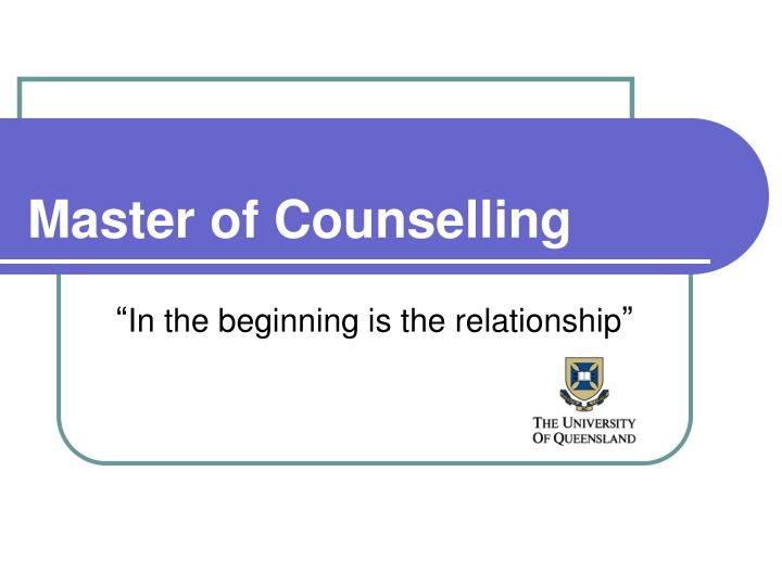 what is counselling What is counselling counselling may be unusual in your home culture however, canadian students and previous international students who sought counselling have described it as a very.