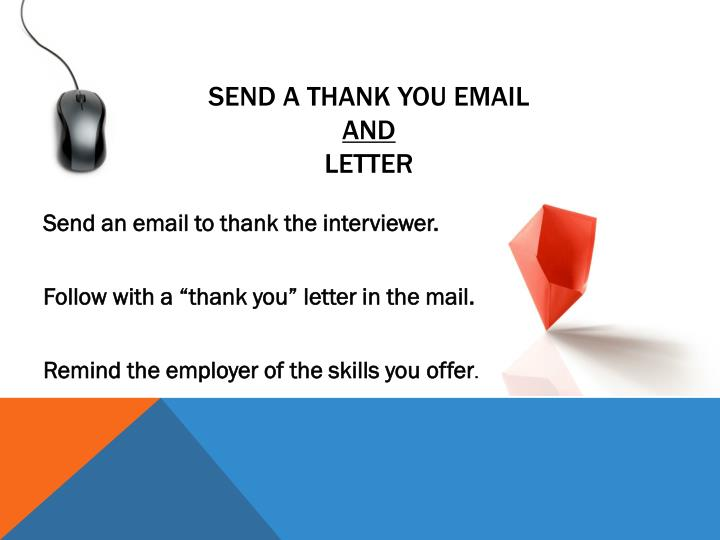 Send a Thank You Email