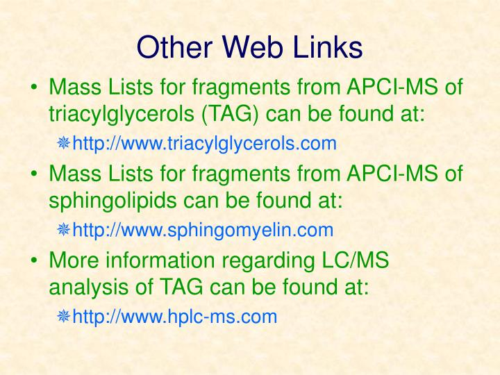 Other Web Links