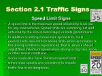 section 2 1 traffic signs3