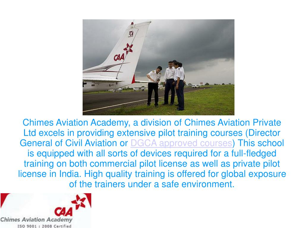 PPT - Chimes Aviation Academy- A Pioneer Institute Offering