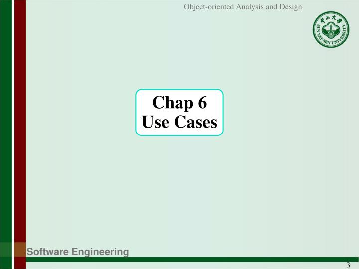 Chap 6 use cases