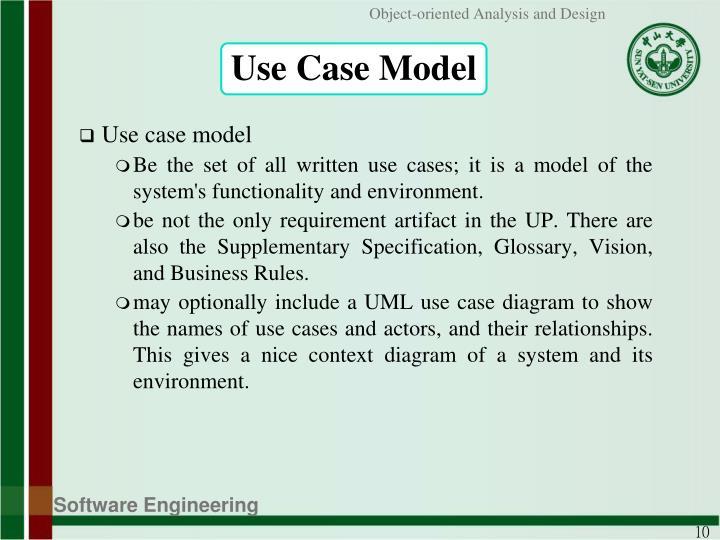 Use Case Model