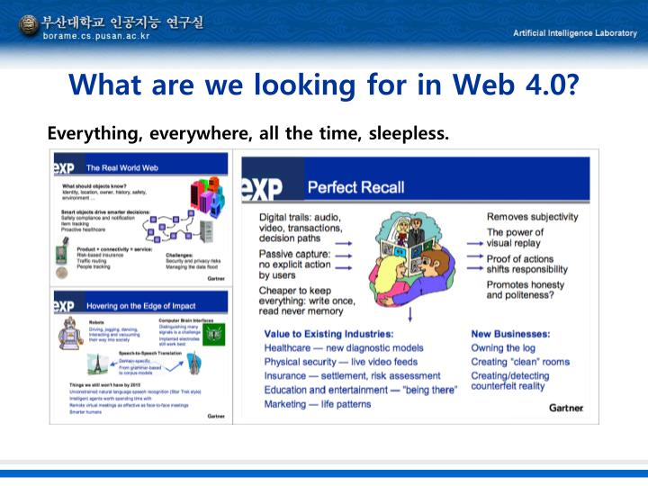 What are we looking for in Web 4.0?