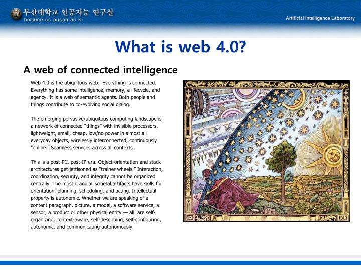 What is web 4.0?