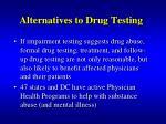alternatives to drug testing4