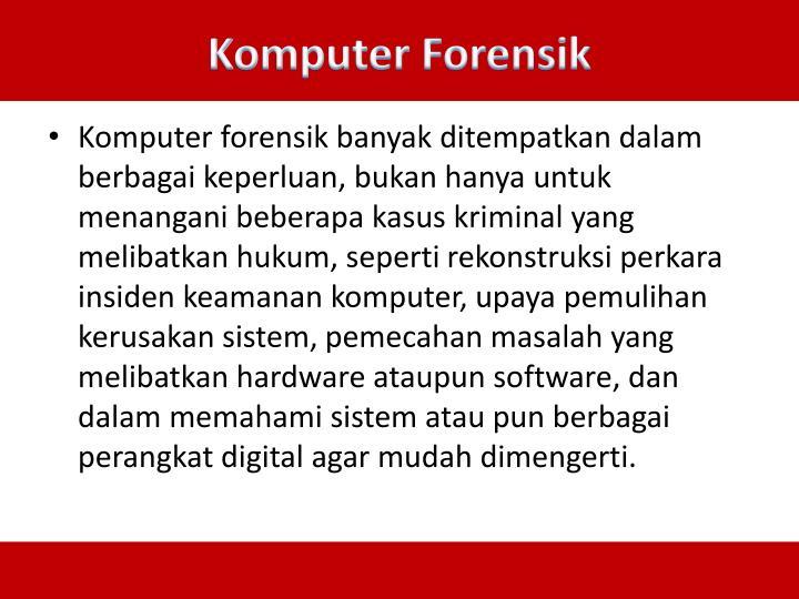 Komputer Forensik