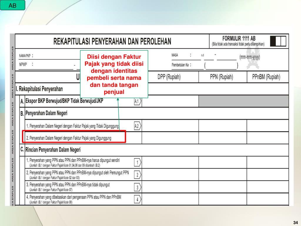 Ppt Peraturan Dirjen Pajak Nomor Per 4 4pj2010 Tentang