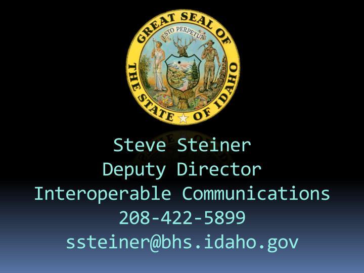 Steve Steiner