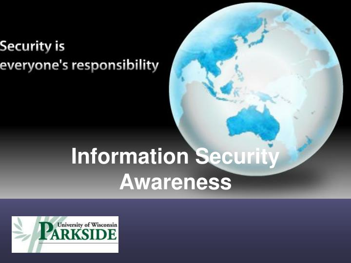 Ppt Information Security Awareness Powerpoint