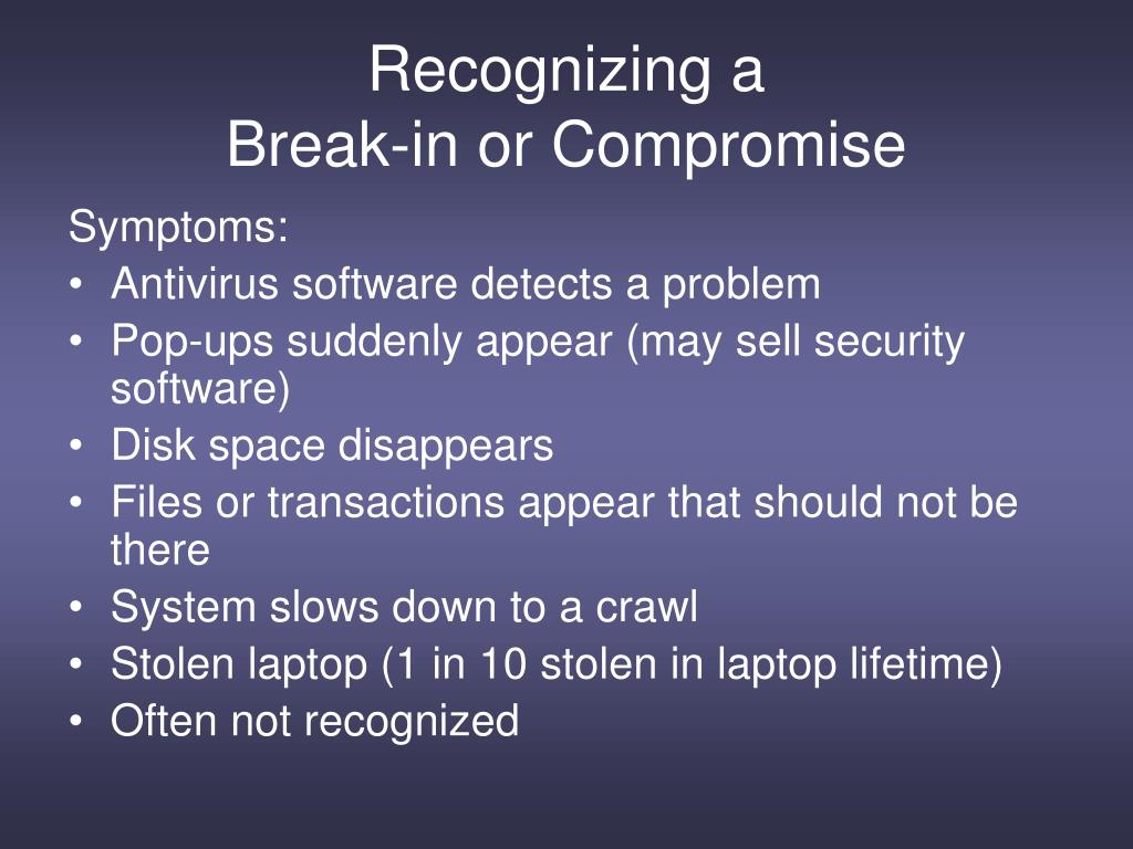 PPT - Information Security Awareness PowerPoint Presentation