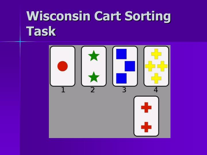 Wisconsin Cart Sorting Task