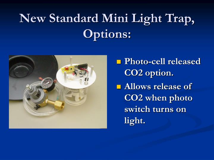 New Standard Mini Light Trap,