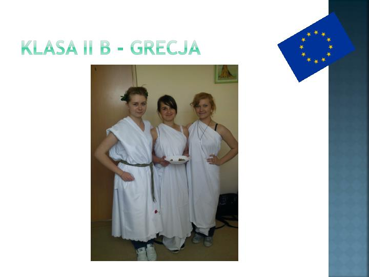 Klasa II B - Grecja