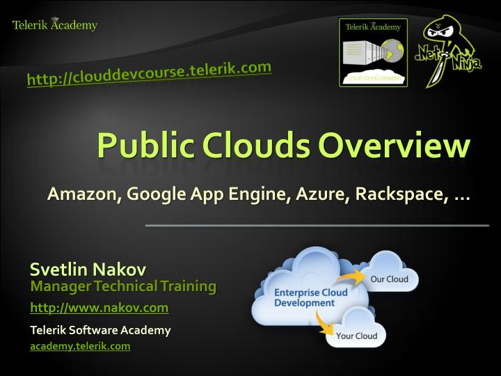 public clouds overview n.