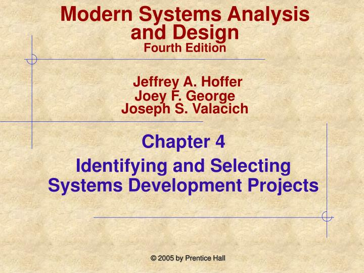 Ppt Chapter 4 Identifying And Selecting Systems Development Projects Powerpoint Presentation Id 2965500