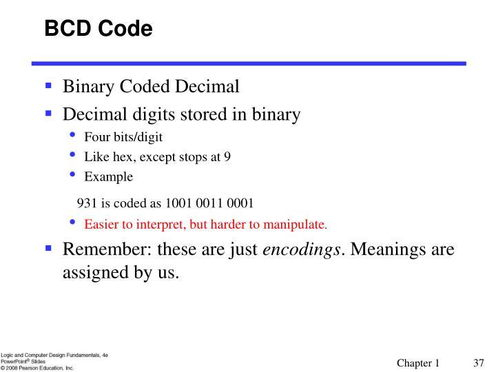 BCD Code