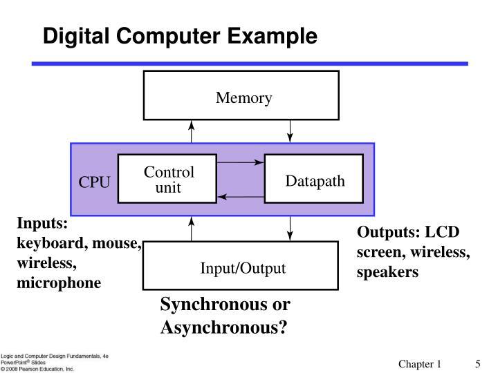 Digital Computer Example