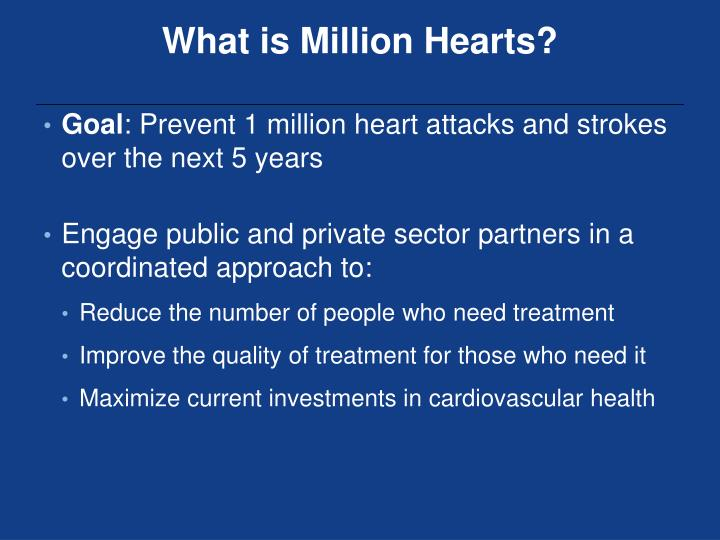 What is Million Hearts?