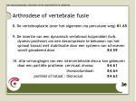 arthrodese of vertebrale fusie1