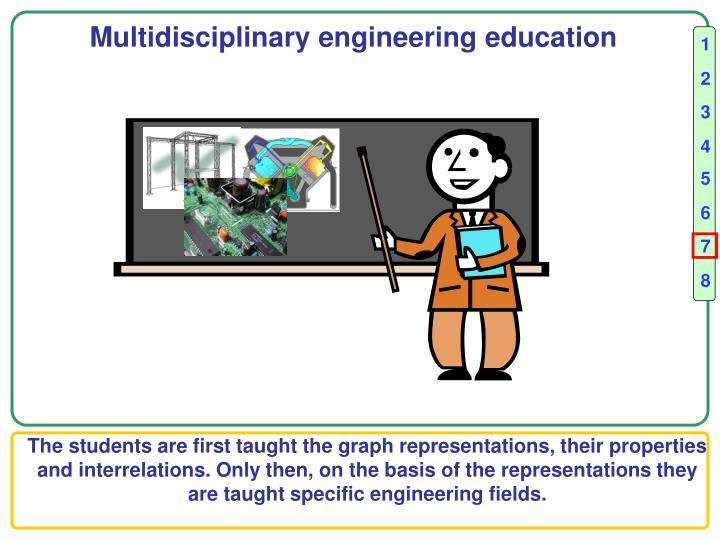Multidisciplinary engineering education