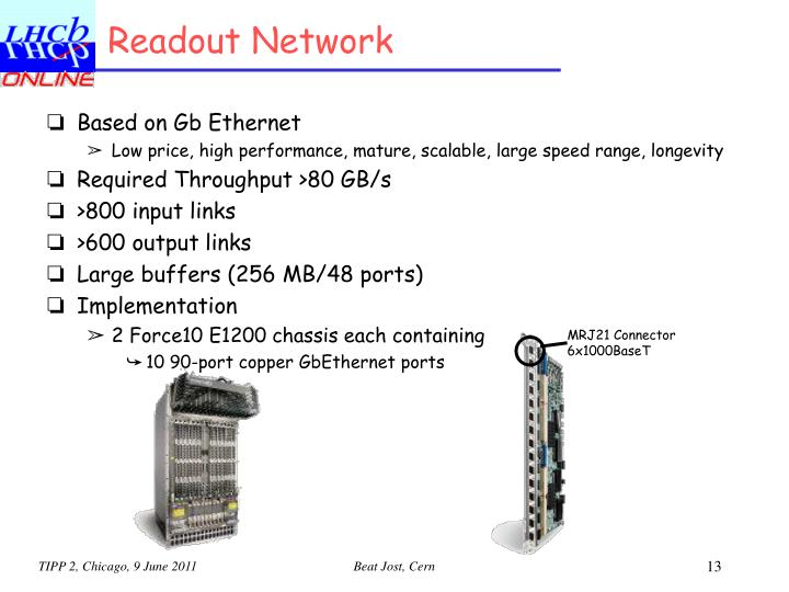 Readout Network