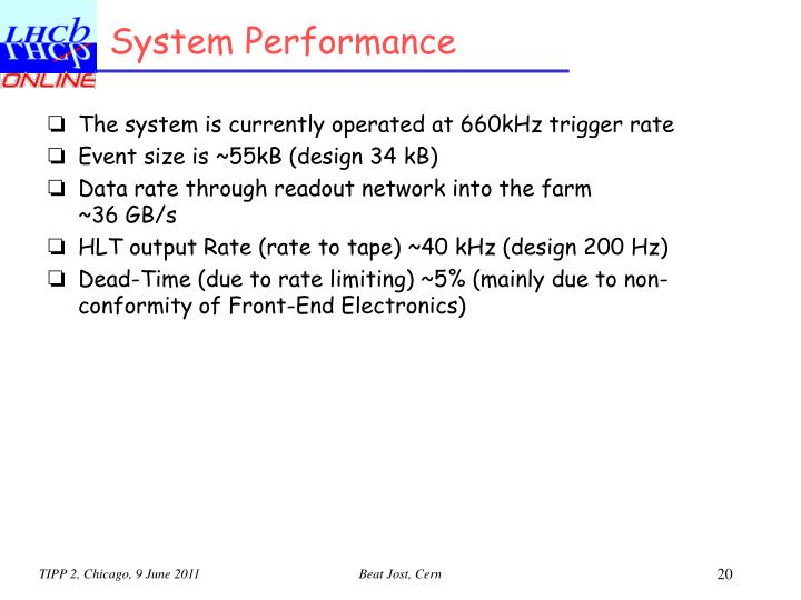 System Performance