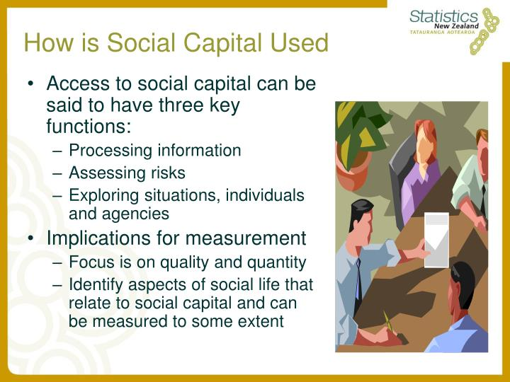 How is Social Capital Used