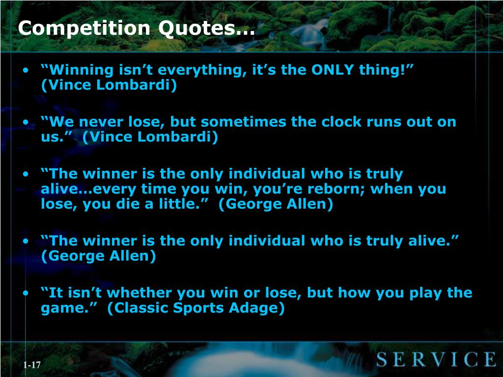 Ppt Competition Quotes Powerpoint Presentation Id2966559