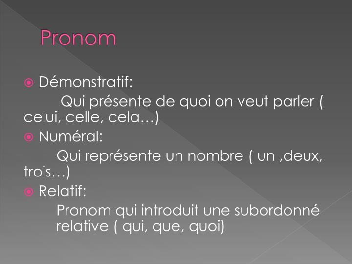Pronom1