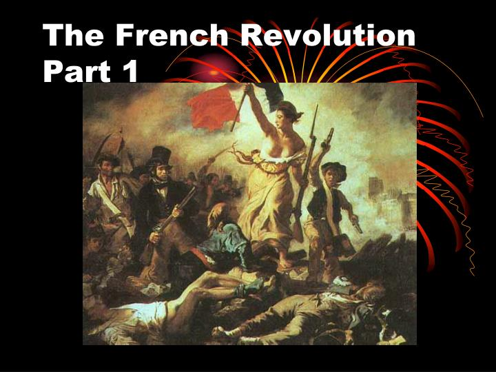 the french revolution and nature
