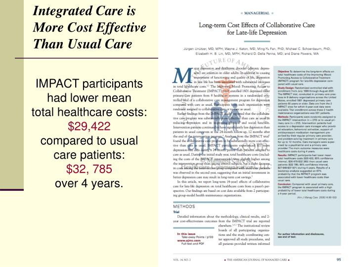 Integrated Care is