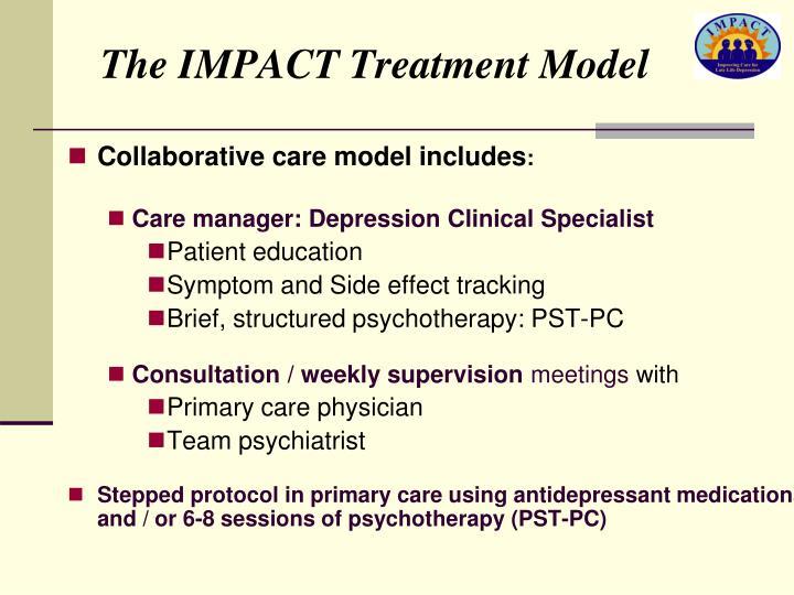 The IMPACT Treatment Model