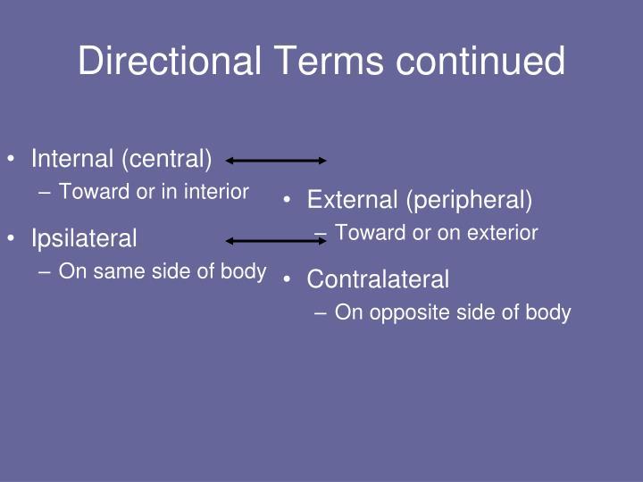 Internal (central)
