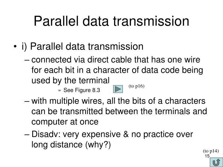 Parallel data transmission