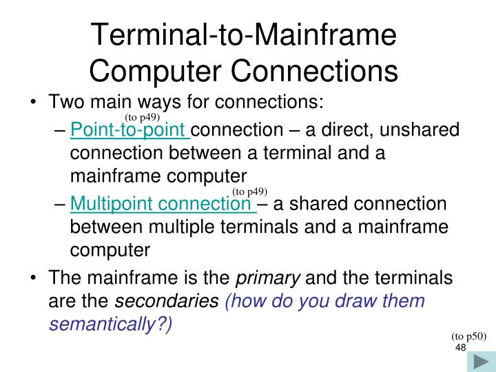 Terminal-to-Mainframe