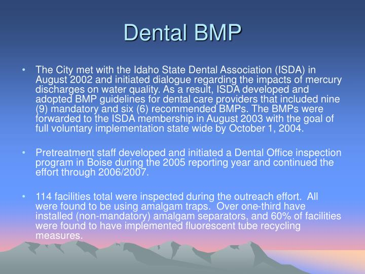 Dental BMP