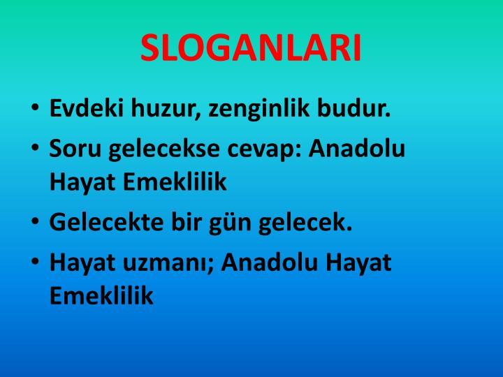 SLOGANLARI