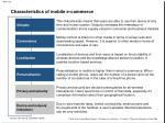 characteristics of mobile e commerce