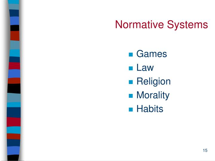 Normative