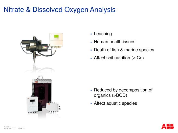 Nitrate & Dissolved Oxygen Analysis