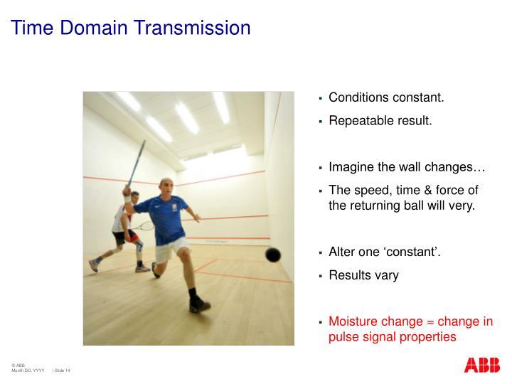 Time Domain Transmission