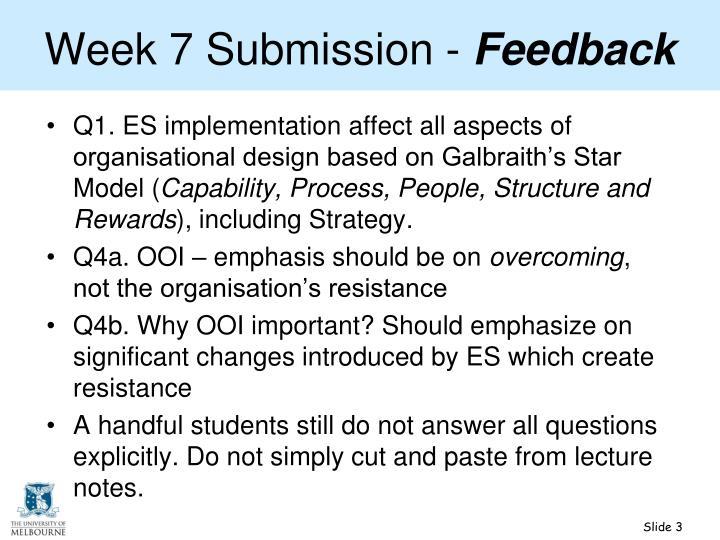 Week 7 submission feedback