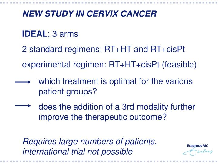 NEW STUDY IN CERVIX CANCER
