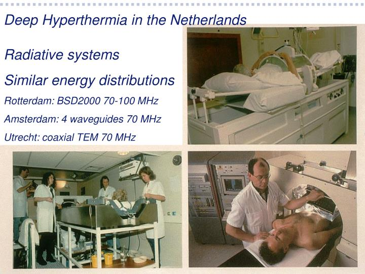 Deep Hyperthermia in the Netherlands