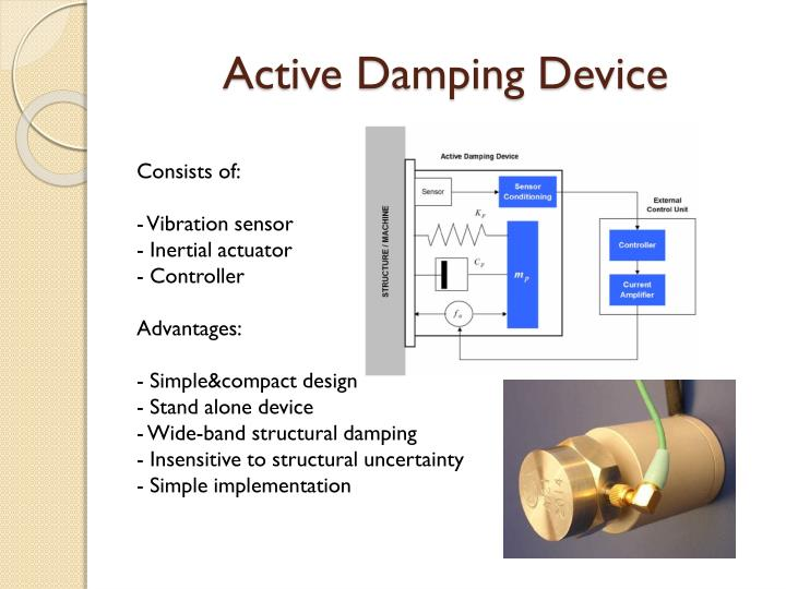 Active Damping Device