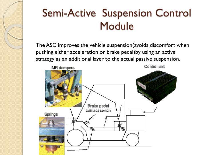 Semi-Active  Suspension Control Module
