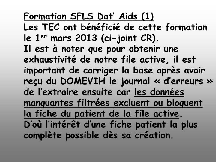 Formation SFLS Dat' Aids (1)